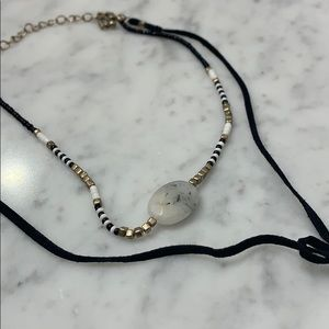 Jewelry - Choker lariat necklace